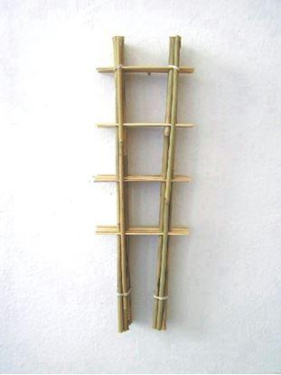 Obrázok z Rebrík bambusový 105 cm - BALENIE 10ks