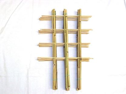 Obrázek Žebřík bambusový dvojitý 90 cm