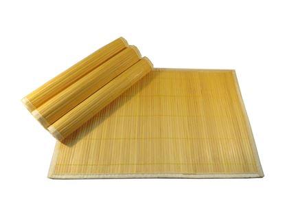 Picture of Bambusové prostírání 30x45cm - žlutá