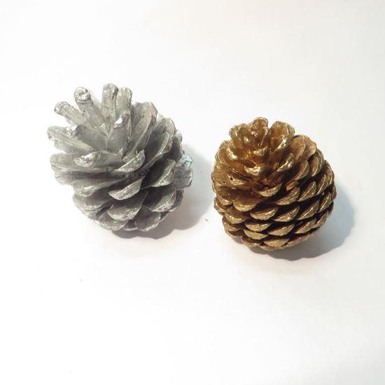 Obrázek z Blue Pine, zlatá/stříbrná (20ks)