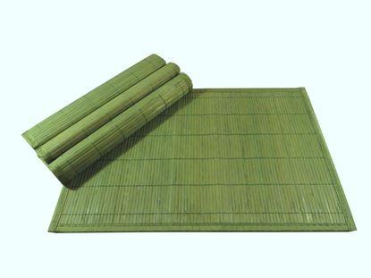 Obrázek Bambusové prostírání 30x45cm - zelená