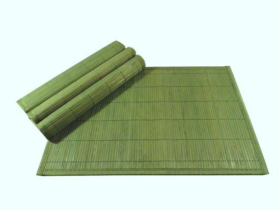 Obrázek z Bambusové prostírání 30x45cm - zelená