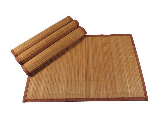 Obrázok z Bambusové prestieranie 30x45cm - hnedá