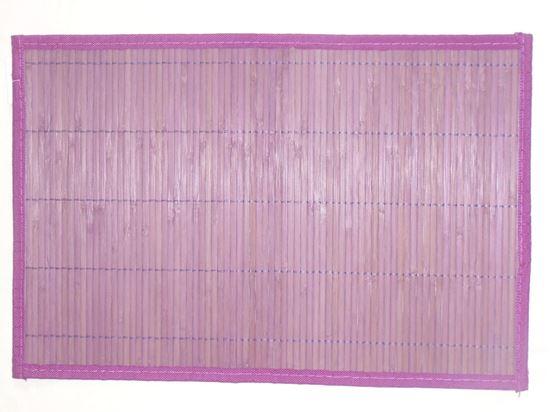 Obrázok z Bambusové prestieranie 30x45cm - fialová - VÝPREDAJ - 2.AKOSŤ