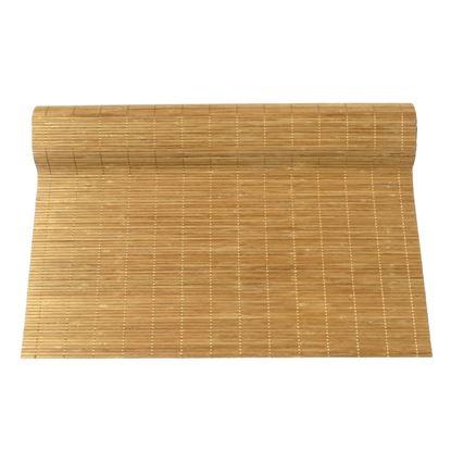 Obrázok z Rohož na stenu - bambus 70x200 svetlo hnedá