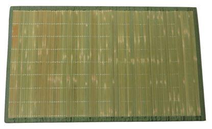 Obrázek Rohož / Předložka na podlahu - bambus 60x90 zelená