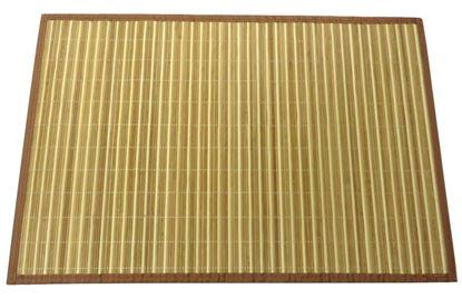 Obrázek Rohož / Předložka na podlahu - bambus 60x90 kombinovaná