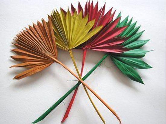 Obrázek z Palm sun spear mini - barevný (10ks)