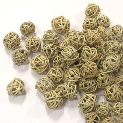 Obrázek Lata ball 2cm - přírodní (100ks)