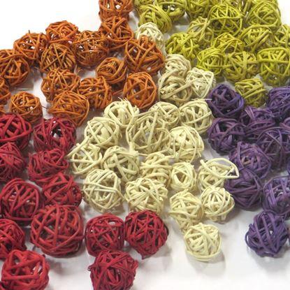Obrázek Lata ball 2cm - barevný (100ks)