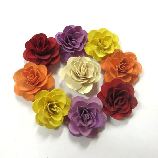 Picture of Deco růže malá - barevná (50ks)