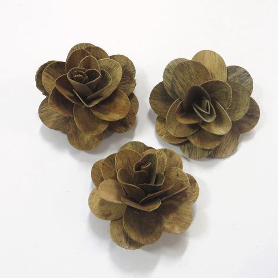 Picture of Deco růže střední - přírodní (50ks)