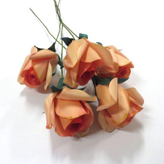 Picture of Deco růže - růžová (5ks)