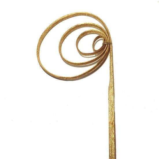 Picture of Cane coil (cane circle) - zlatá, stříbrná (25ks)