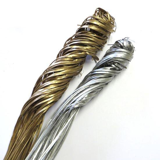 Picture of Palm ting ting curly - zlatá, stříbrná (5 svazků)