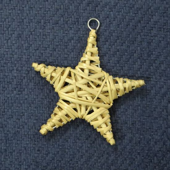 Obrázek z Proutěná hvězda - dekorace k zavěšení (3 BARVY)