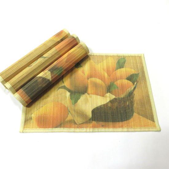 Obrázok z Bambusové prestieranie 30x45cm - ovocie