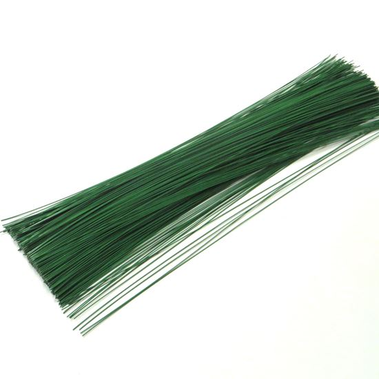 Obrázok z Drôt viazací 0,7mm, dľžka 40cm - zelený - 2kg